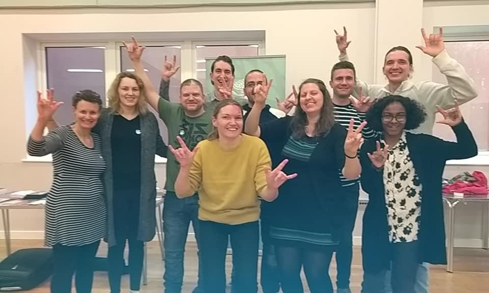 Leadership training in England - Ruislip